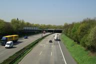 Autobahn A 46, Düsseldorf-Wersten.Wersten Tunnel