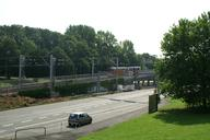 Light rail bridge on Ardeystrasse, Dortmund