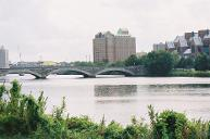 Western Avenue Bridge, Boston/Cambridge, Massachusetts.