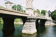 Lagoon Bridge, Boston Public Gardens, Boston, Massachusetts.