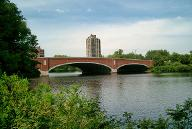 Elliot Bridge, Cambridge/Boston, Massachusetts.