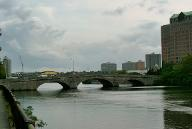 River Street Bridge, Boston, Massachusetts.