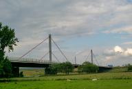 Autobahn A1 Köln-Leverkusener Brücke.