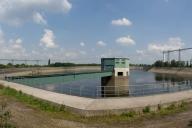 Réservoir supérieur de la centrale Koepchen