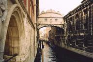 Bridge of Sighs, Venise.