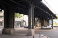 Petite Ceinture, ParisBridge crossing the Avenue Jean-Jaurès.