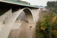Autobahn A4.Teufelstalbrücke.