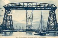Buenos Aires Transporter Bridge Source: Postcard from the private collection of Edy Pockelé.