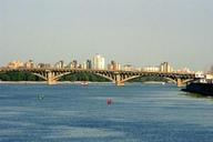 Metrobrücke Kiew