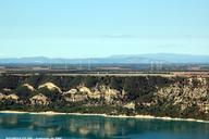 ROUMOULES (04, Alpes-de-Haute-Provence) – Pylones des antennes émettrices de Radio-Monte-Carlo.