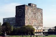Library of the National University of Mexico.