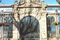 Le marché couvert de Narbonne.