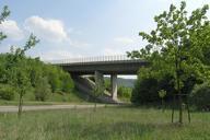 Autobahn A 8 - Bridge across the Weilheimer Strasse at Aichelberg