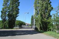 Footbridge at North Station in Stuttgart