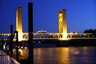 Tower BridgeM Street BridgeSacramento River BridgeOld Sacramento, California USA