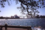 Opera House & Harbour Bridge, Sydney, Australia.