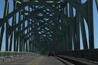 McCullough Memorial Bridge truss patterns