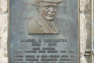 Plaque dedicated to Sameul C. Lancaster