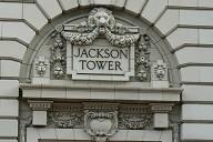 Jackson Tower - Lobby entrance decoration