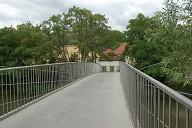 Heinrich-Bosch-Steg, Bamberg, Oberfranken, Bayern, Deutschland