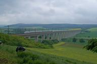 Aue Viaduct, High-speed Rail Line Hanover-Würzburg