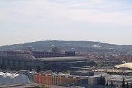 Palau Blaugrana & Camp Nou & Barcelona Olympic Stadium & Sant Jordi Sports Palace & Montjuic Communications Tower