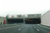 Pontebbana tunnel eastern portals