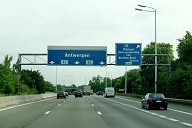 A1 Motorway at Mechelen North