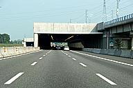 Pregnana Milanese Tunnel western portals