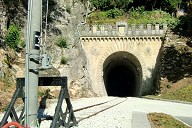Montale Tunnel northern portal