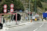 Col di Tenda Tunnel, french portal