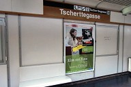 Tscherttegasse Metro Station, platform