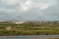 Puente Internacional from Castro Marim