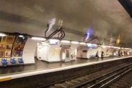République Metro Station, line 3 platform