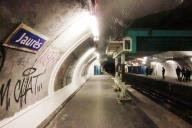 Jaurès Metro Station