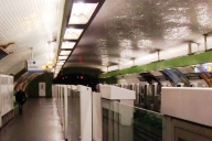 Montparnasse - Bienvenüe Metro Station, line 13 platform