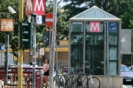 Metrobahnhof Subaugusta