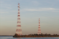 Pylon for the High-voltage Elbe crossings 1 and 2