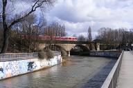 Bayreuth Railroad Bridge - carries the Dresden-Nürnberg and the Lichtenfels-Franken Railway lines.