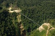 Hegigio Gorge Pipeline Bridge, Papua New Guinea