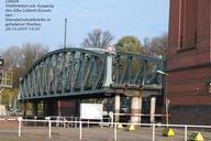 Lübeck Railroad Lift Bridge