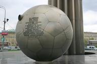 Gagarin-Denkmal in Moskau
