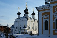 Nikolsky Cathedral in Kremlin 1681, Zaraysk, Moscow Oblast, Central Federal District, Russia, Europe
