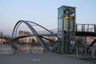 Huningue, Passerelle des Trois Pays(Dreiländerbrücke)