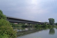 A6 bridge across the Neckar at Neckarsulm