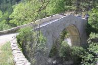 Pont de la Reine JeannePont routeVilhoscAlpes de Haute Provence
