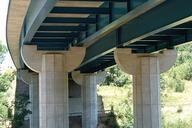A75 - Viaduc de Massiac sur l'Alagnon - Piles
