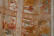 Abbaye de Saint-SavinNefDétail de la fresque sur la voûte.