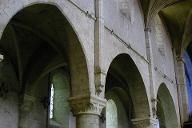 Beaugency - Eglise abbatiale Notre-Dame - Nef - Elévation.