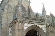 Cathédrale Saint-Samson, Dol-de-Bretagne.Grand porche ou porche Saint-Magloire